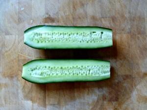 cucumber half