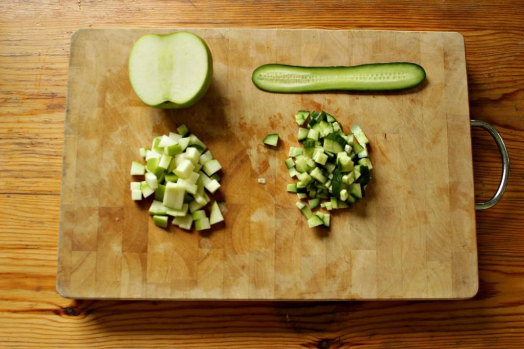 cut ingredients
