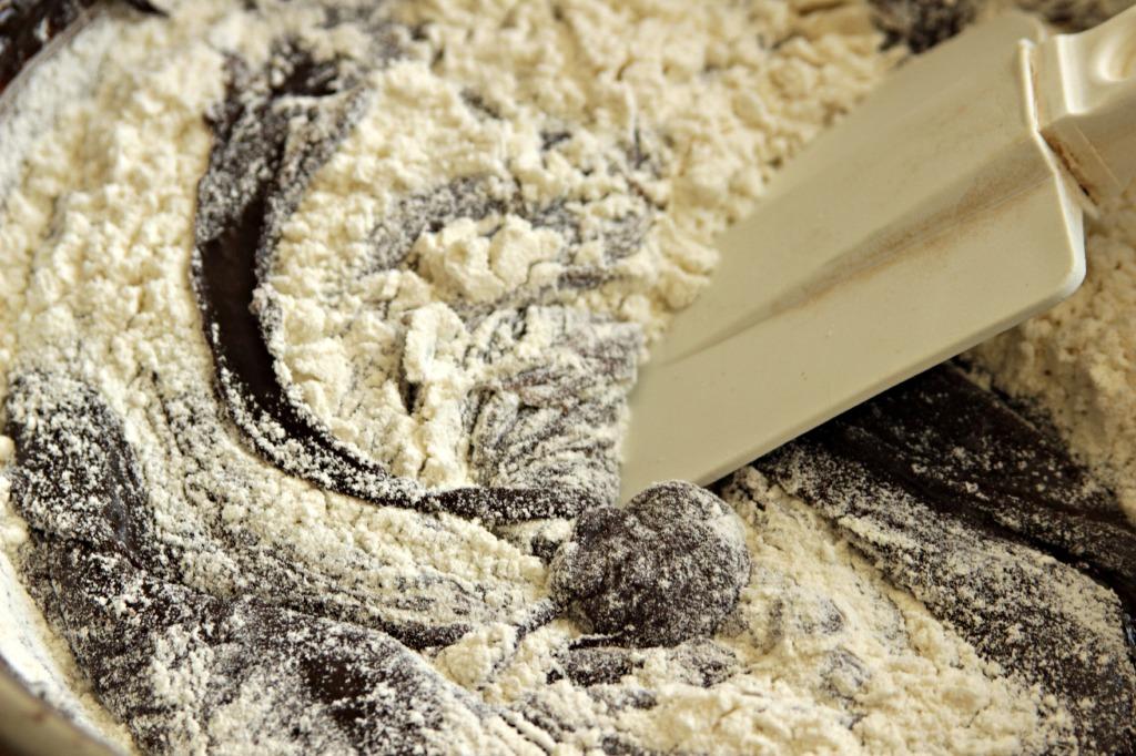 flour added