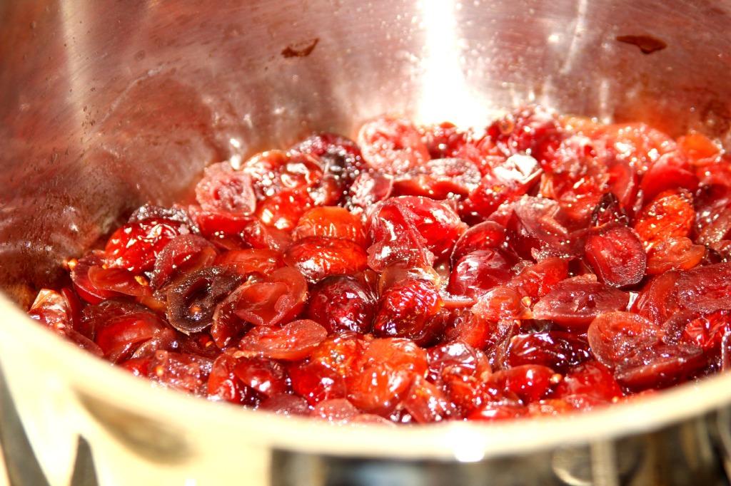 puffed cranberries