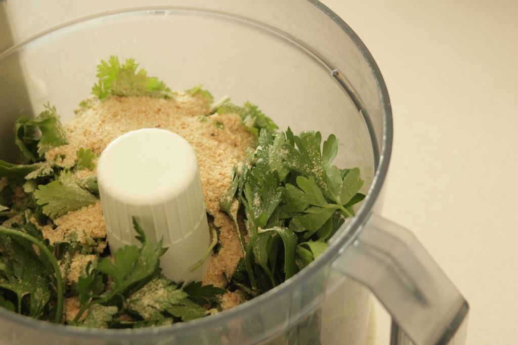 parsley and crumbs