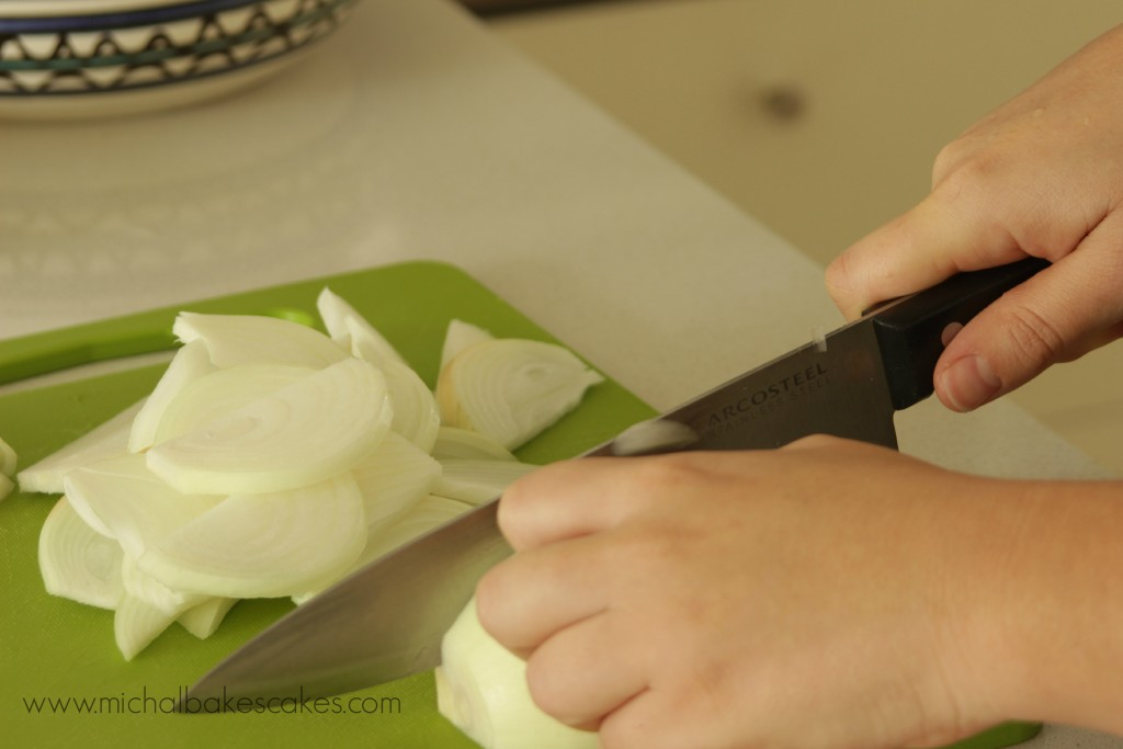 onions cut