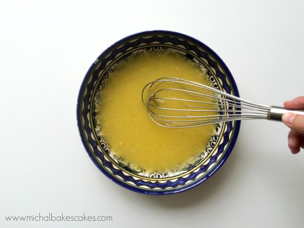mix egg