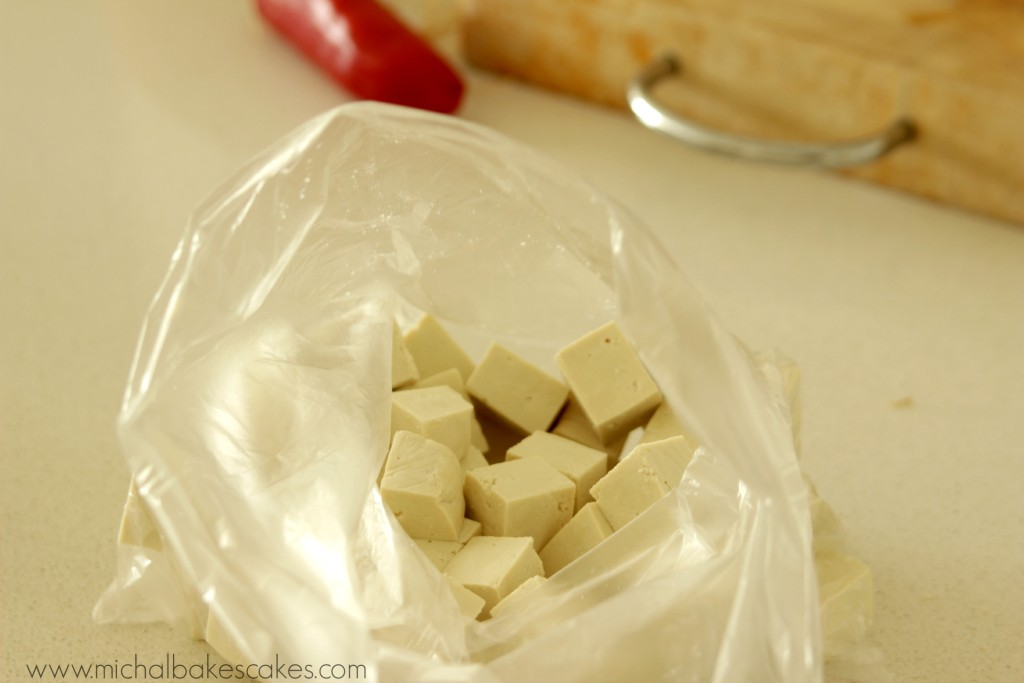 tofu in a bag