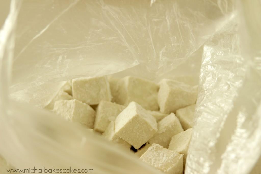 tofu in a bag cornflour