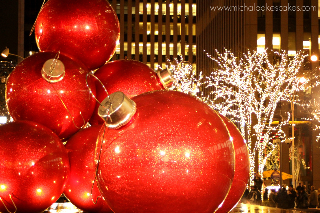 Christmas decoration at Rockefeller Centre