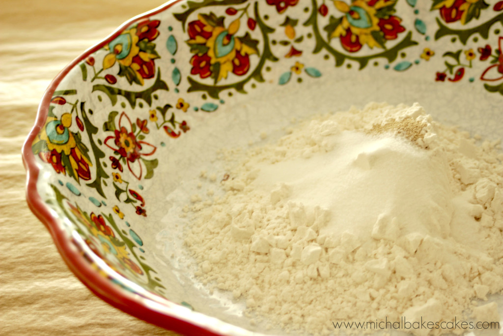flour in bowl